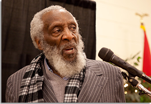 Dick Gregory in Selma, March 2012