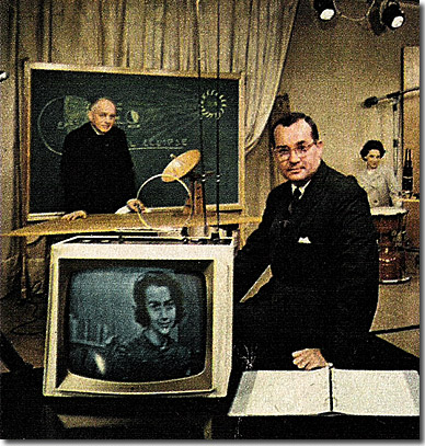 Newton Minow at educational TV station WETA