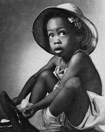 Denise McNair as a young girl